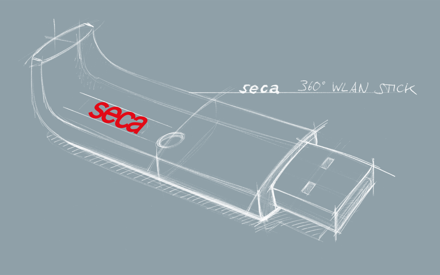Seca 360 System Design werksdesign sketch