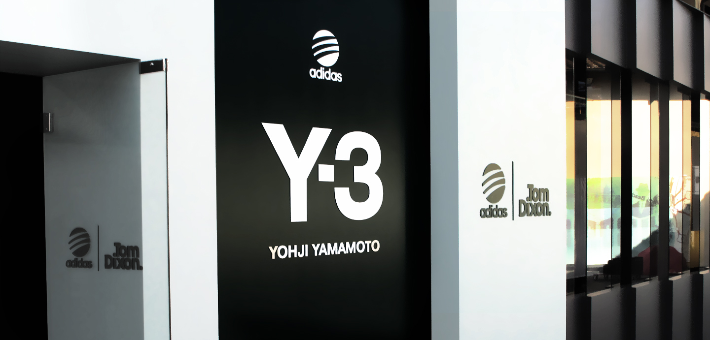 Messestand design adidas y3