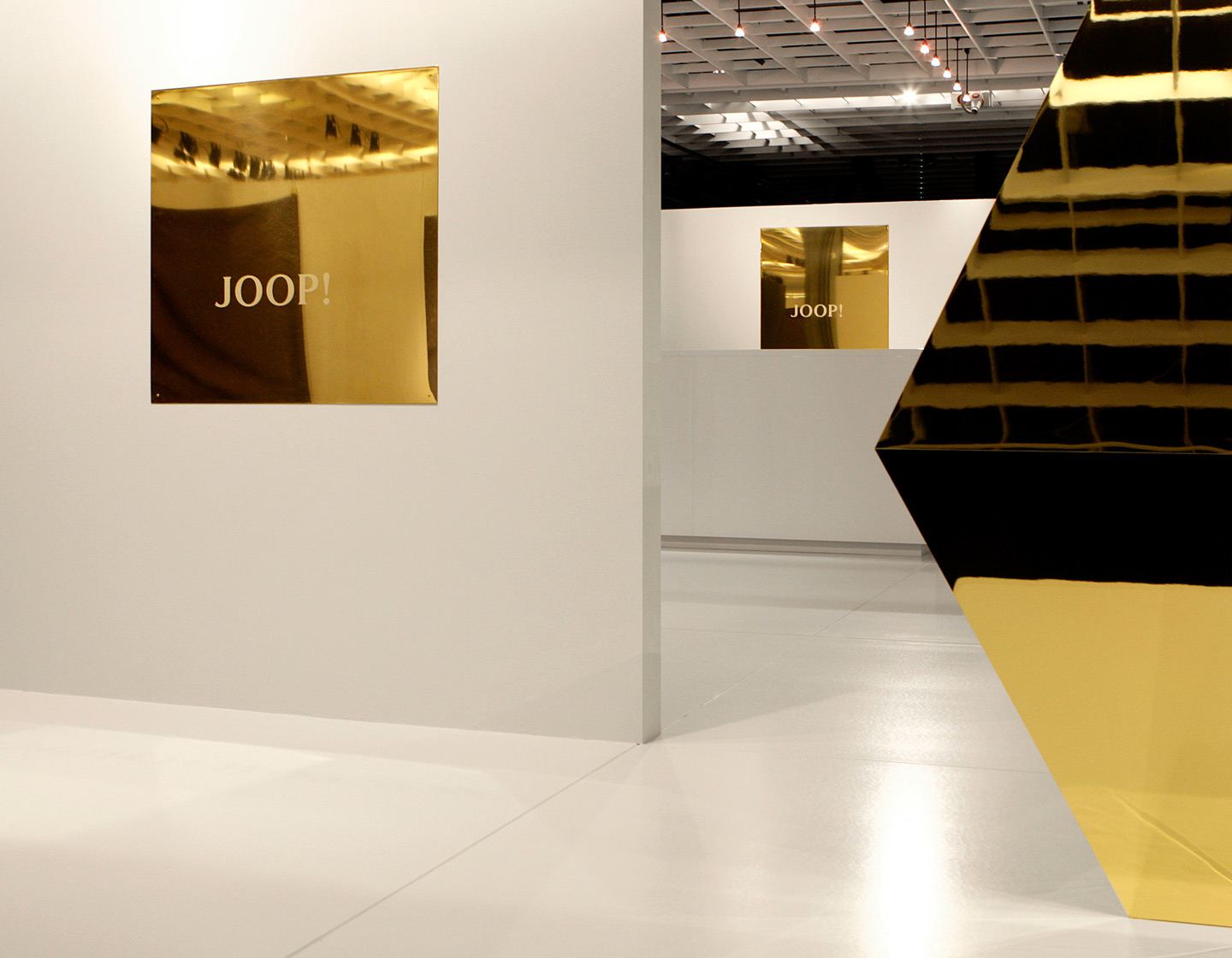 joop pitti gold messe event textil