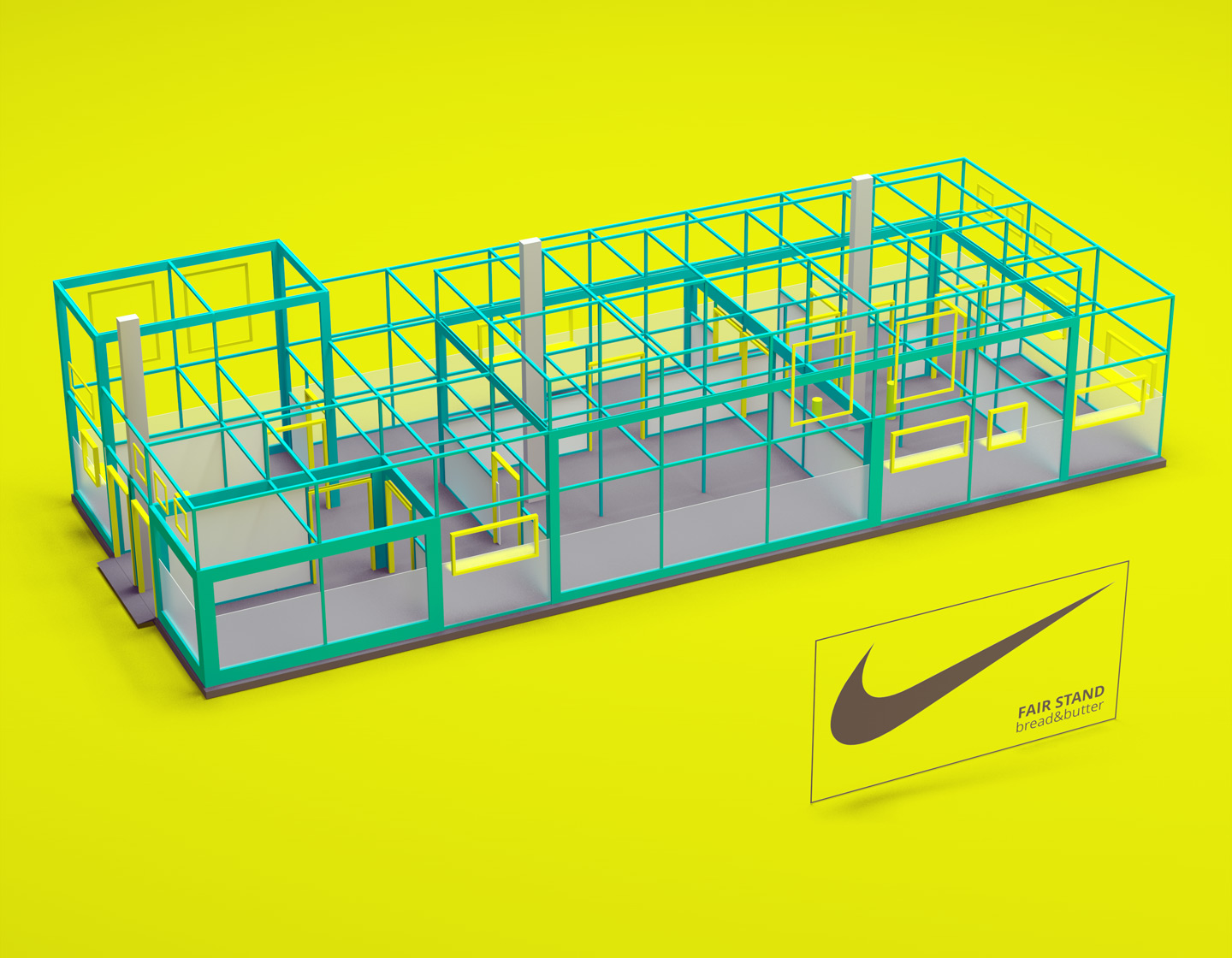 nike bbb messe event design