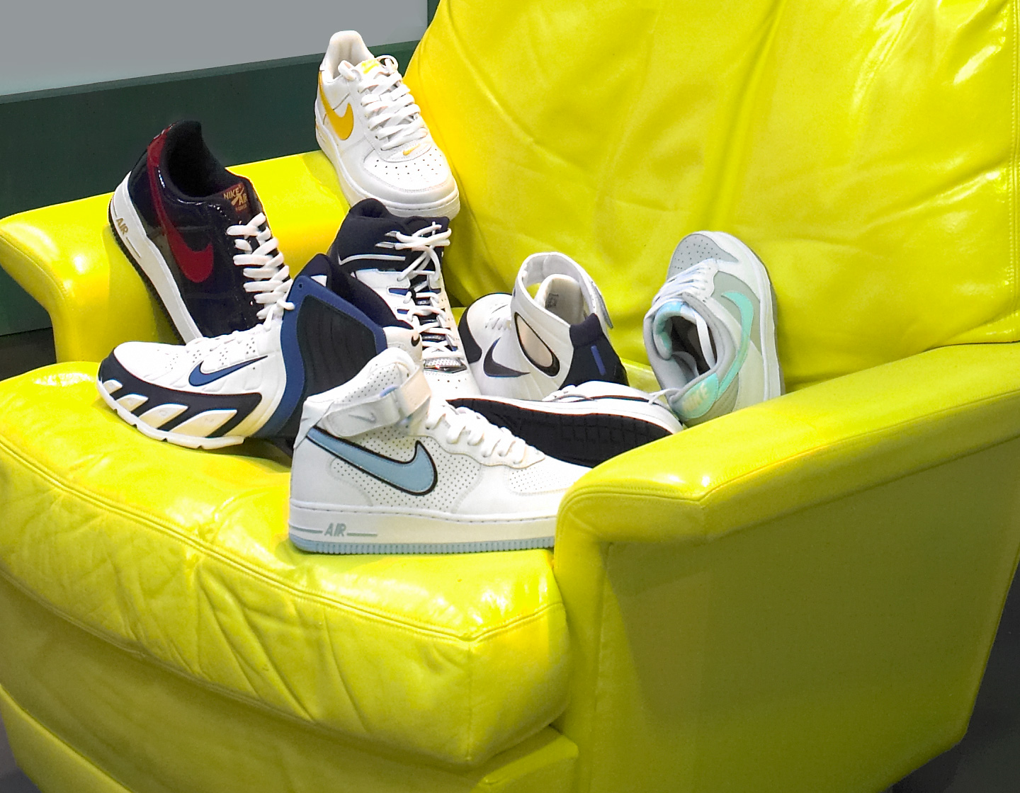 nike bbb messe event design sneaker