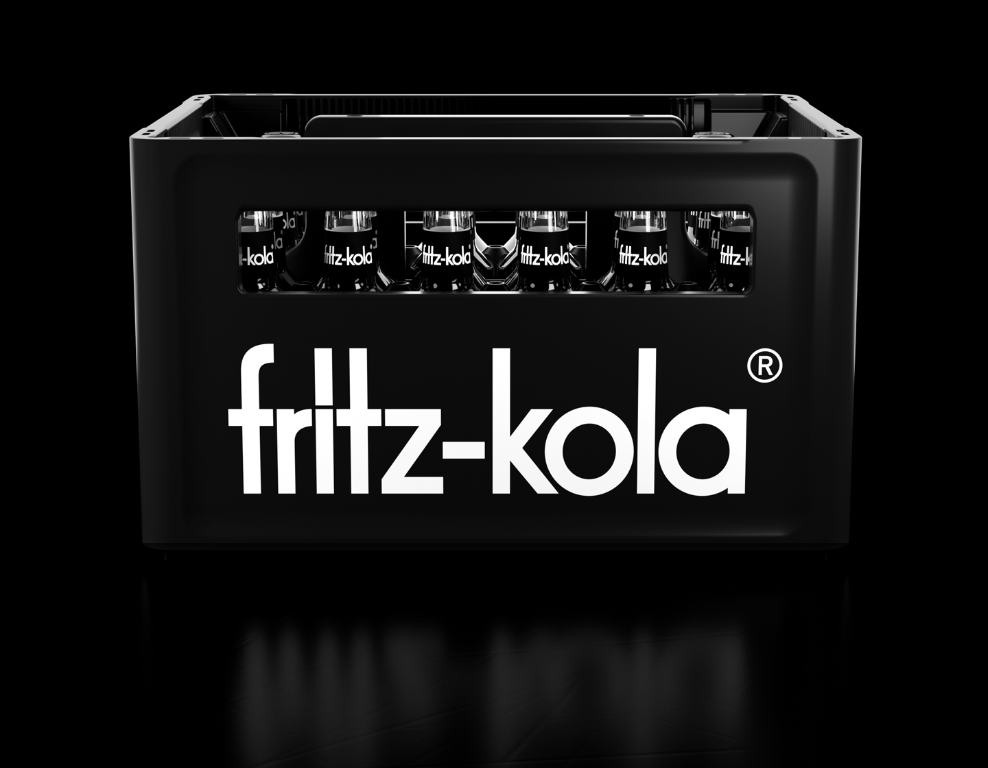 fritz-kola corporate design werksdesign flasche relief
