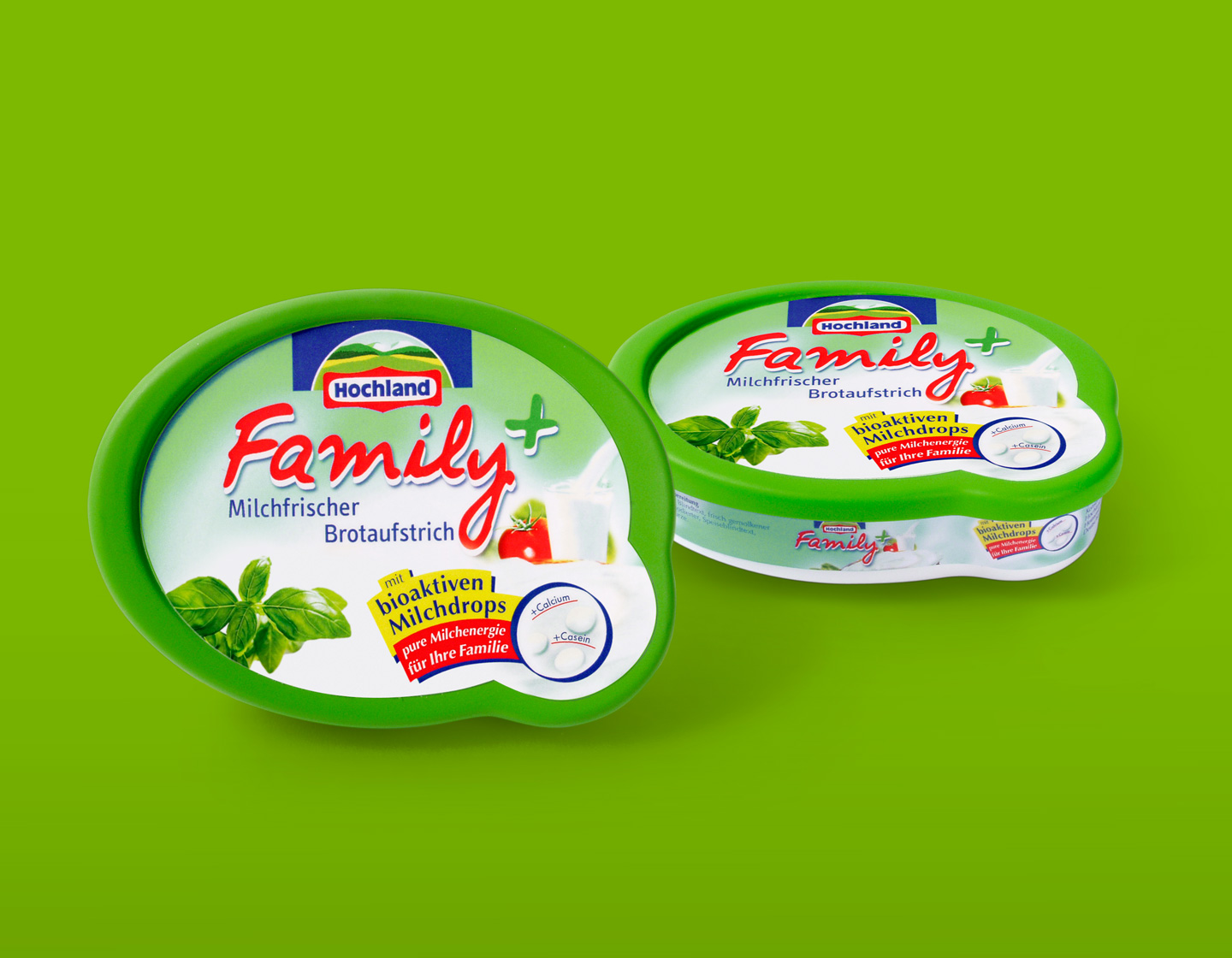 Hochland austrich verpackung family